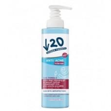 Активный глубоко очищающий гель для кожи с заметными несовершенствами Лирен Under Twenty Anti Acne Intense Active Deep Cleansing Gel Lirene