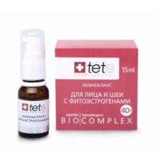 Биокомплекс аквабаланс для лица и шеи с фитоэстрагенами 40+ Тете biokompleks-akvabalans-s-fitoestragenami-40 Tete
