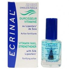 Витаминизированный укрепляющий комплекс для ломких ногтей Асепта Ecrinal Vitamin Nail Strengthener Asepta