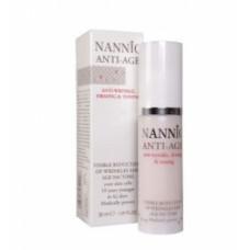 Антивозрастная крем-сыворотка для нормальной и жирной кожи  Нанник Anti-age factor Nannic