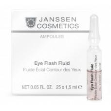 Anti-age лифтинг-сыворотка с пептидами для  окружностей глаз Янссен Eye Flash Fluid Janssen