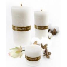 Ароматерапевтическая свеча Хлопок и Лотос Органик Candle Big Cylinder Cotton&Lotus Organique