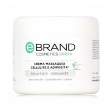 Антицеллюлитный массажный крем с фосфатидилхолином Ебренд Crema Massaggio Inestetismi Cellulite Ebrand
