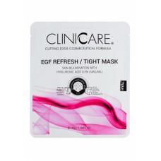 EGF Регенерирующая/лифтинг маска с 0,5% гиалуроновой кислотой Клиникеэ EGF REFRESH/TIGHT lifting/skin rejuv. mask 0.5% HA Clinicare