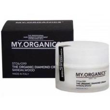 Бриллиантовый крем для питания волос с маслом сандалового дерева Май.Органикс Diamond Cream My.Organics
