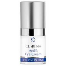 Активно лифтингующий крем с алмазной пылью Кларена Bio eye line Actlift  Eye Cream Clarena