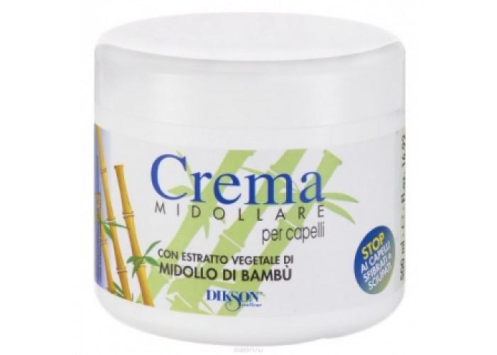 Восстанавливающий бальзам с экстрактом бамбука Диксон Crema Midolare Bambu Dikson