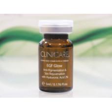 EGF Мезококтейль осветляющий Клиникеэ EGF GLOW, anti-pigment/skin rejuvenation vial, (2% HA) Clinicare