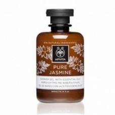 """Гель для душа """"Натуральный жасмин"""" с эфирными маслами Апивита Pure Jasmine Showergel with Essential Oils Apivita"""