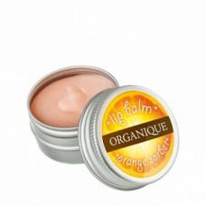 Бальзам для губ Апельсиновый шербет Органик Lip balm Orange sherbet Organique
