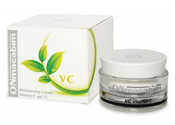 Увлажняющий крем с витамином С ОНмакабим MOISTURIZING CREAM VITAMIN C SPF15 OnMacabim