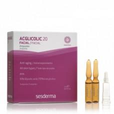 ACGLICOLIC 20 омолаживающая сыворотка Сесдерма ACGLICOLIC 20 ANTI-AGING MOISTURIZING AMPOULES Sesderma