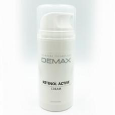 Активный крем с ретинолом для обновления и омоложения кожи лица Демакс Retinol Active Cream Demax