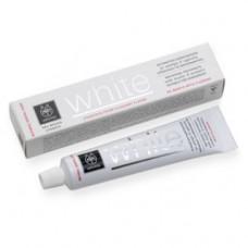 Отбеливающая зубная паста с мастикой и прополисом Апивита Healthcare Natural Dental Care White Whitening Toothpaste With Mastic & Propolis Apivita