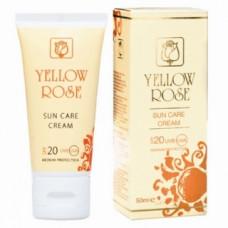 Антивозрастной солнцезащитный крем SPF 20 для всех типов кожи Йелоу Роуз Sun Care Cream SPF 20  Yellow Rose